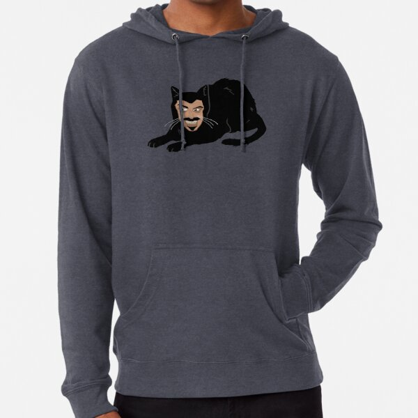Vlad the Cat (Gray) Lightweight Hoodie