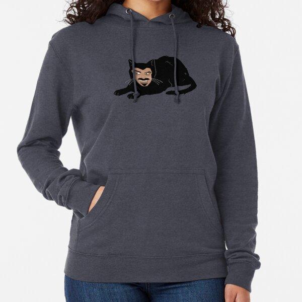 Vlad the Cat (Gray) Lightweight Hoodie