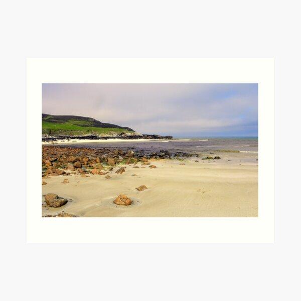 Beach at Tolsta Art Print