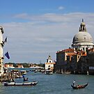Canal Grande Venezia Italy by TerrillWelch