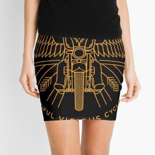 bryantbie80 essential beautiful vicious cycle of life tribute hutchens Mini Skirt
