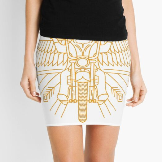 bryantbie80 essential beautiful vicious cycle of life tribute hutchens stiker Mini Skirt