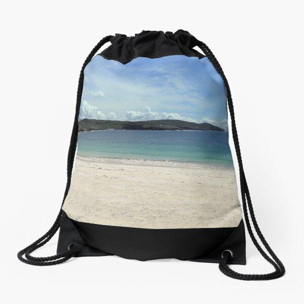 Beach at Huisinish Drawstring Bag