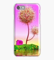 Colorful island. iPhone Case/Skin