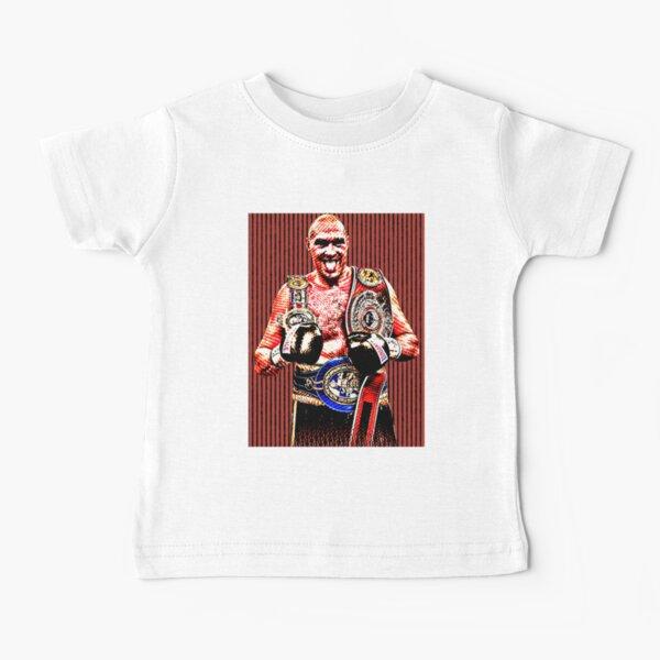 Tyson Fury Artwork Baby T-Shirt