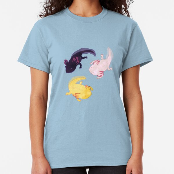 Axolotl Pattern Classic T-Shirt