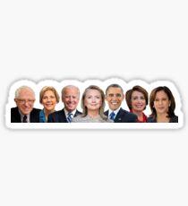 Democrat Squad Goals Sticker
