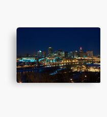 St Paul Skyline Canvas Print