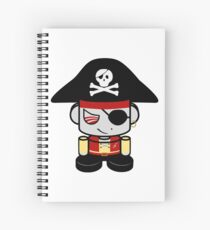 Pirate O'BOT 1.0 Spiral Notebook