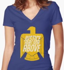 Pharah - JUSTICE Women's Fitted V-Neck T-Shirt