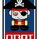 Pirate O'BOT 2.0 by Carbon-Fibre Media