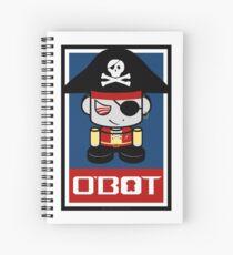 Pirate O'BOT 2.0 Spiral Notebook