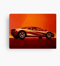 McLaren F1 Painting Canvas Print