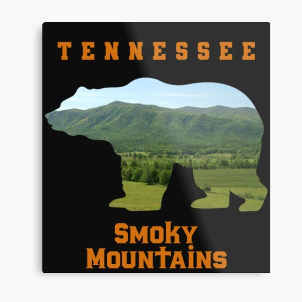 Tennessee Great Smoky Mountains Country Shirt  Metal Print