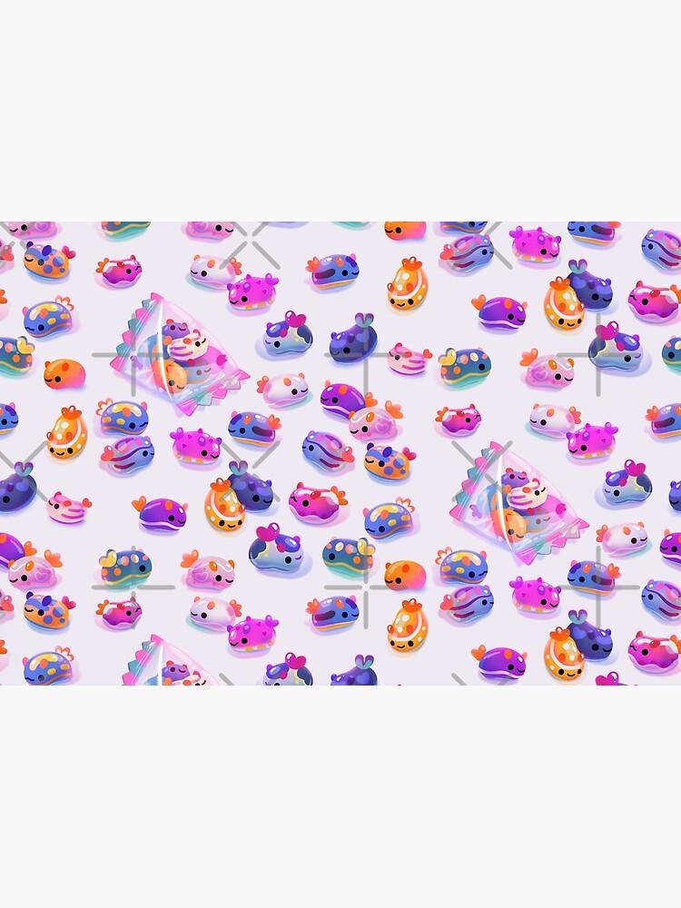 Jelly bean sea slug by pikaole