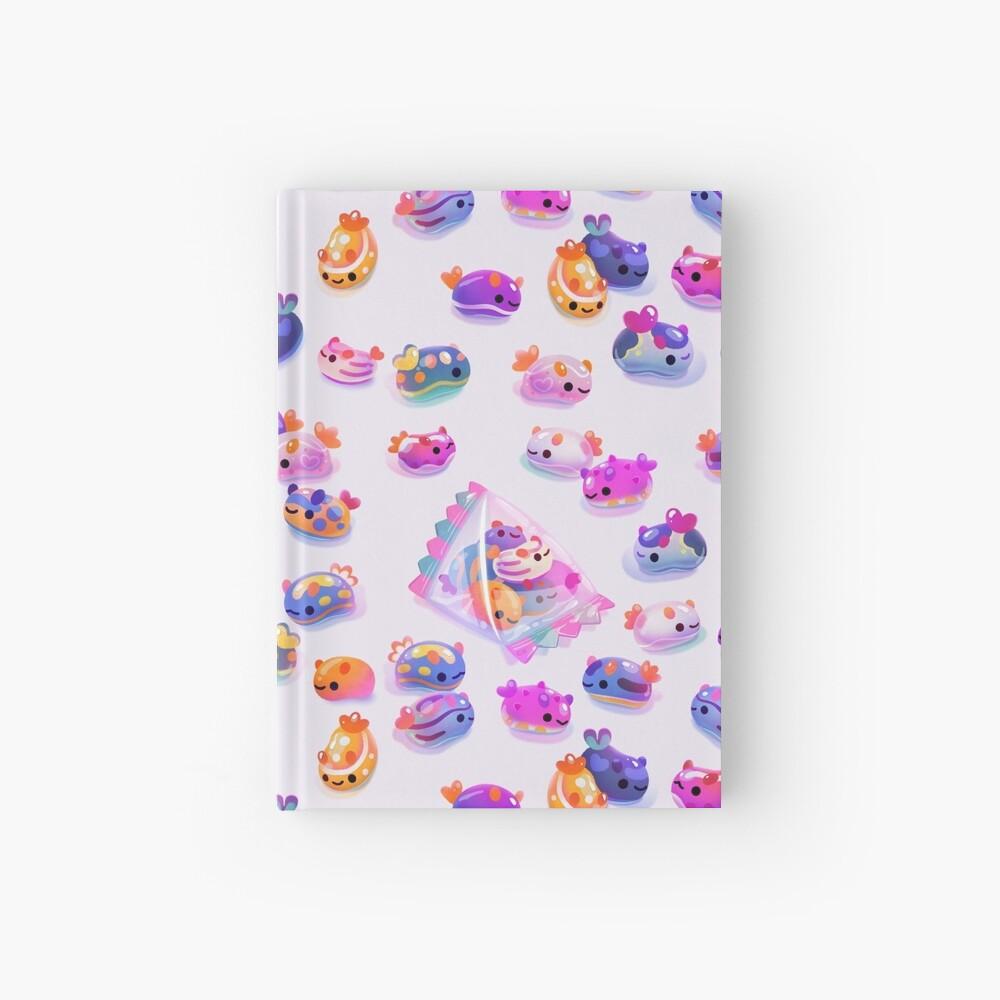 Jelly bean sea slug Hardcover Journal