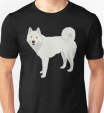 White Husky Unisex T-Shirt