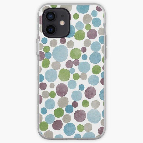 Watercolor bubbles iPhone Soft Case