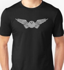 bowling winged Unisex T-Shirt