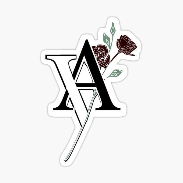 Vampire Academy Rose Design Sticker