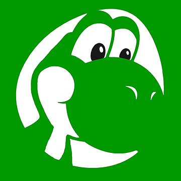 My Friend Yoshi - Green by Shannon-Art