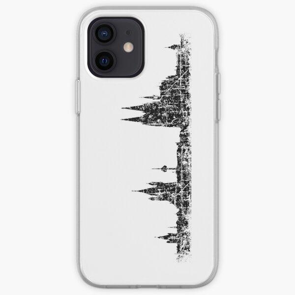 Köln Skyline Vintage iPhone Soft Case