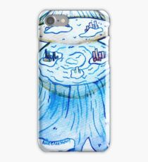 Paper Scrolls (5) Clam  iPhone Case/Skin