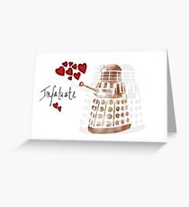 Dalek Love Greeting Card