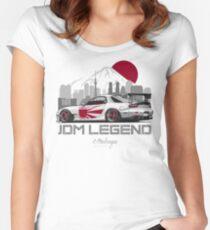 RX7. JDM Legend Women's Fitted Scoop T-Shirt