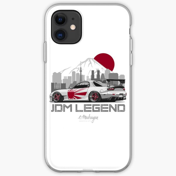 RX7. JDM Legend iPhone Soft Case