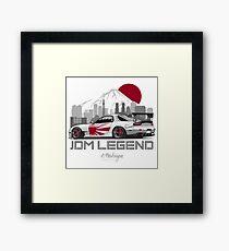 RX7. JDM Legend Framed Print