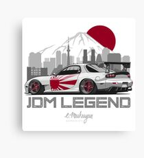 RX7. JDM Legend Canvas Print
