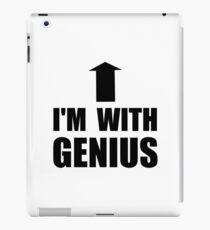 I'm With Genius iPad Case/Skin