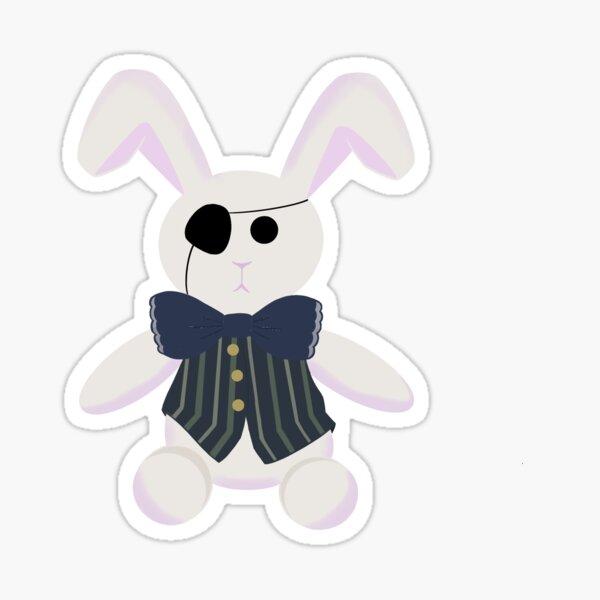 Black Butler Plush Bunny Sticker Sticker