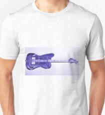 Blue Bass Guitardis Unisex T-Shirt