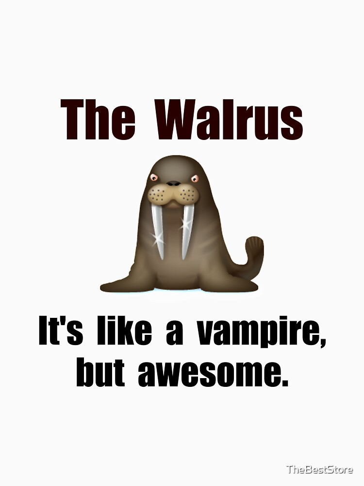 Walrus Vampire by TheBestStore