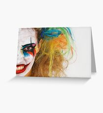 Coulrophobia  Greeting Card