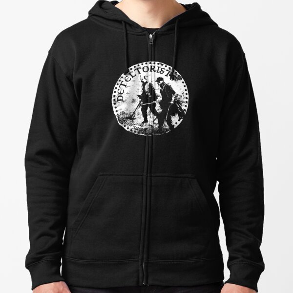 Detectorists - DMDC Anglo Saxon coin Zipped Hoodie