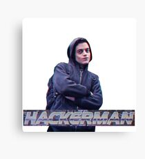HACKERMAN -Mr Robot  Canvas Print