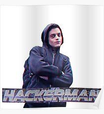 HACKERMAN -Mr Robot  Poster