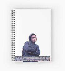 HACKERMAN -Mr Robot  Spiral Notebook