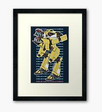 Gortys x Loader Bot (Love in Binary) Framed Print