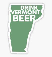 Drink Vermont Beer Sticker