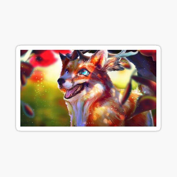 A joyful day Sticker