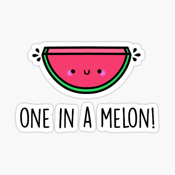 One in a Melon Stickers Set of 20