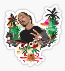 Snoop Dogg tee  Sticker