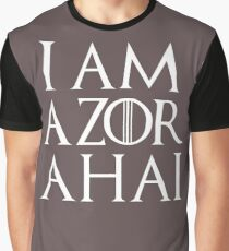 azor ahai Graphic T-Shirt