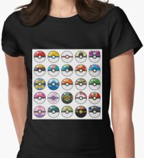 Pokemon Pokeball White T-Shirt