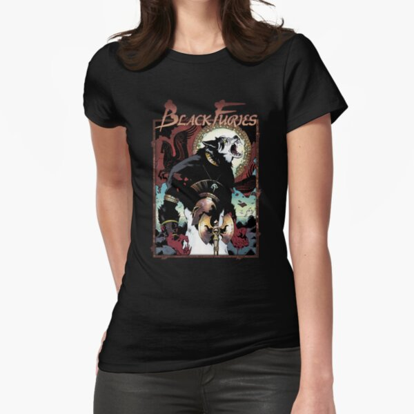 Apocalypse Tribe: Black Furies Revised Fitted T-Shirt