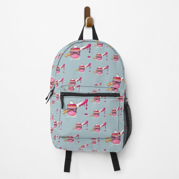 Cute and Deadly Pink Cupcake, 'Cupcaked Crime', Cupcake Criminal Backpack